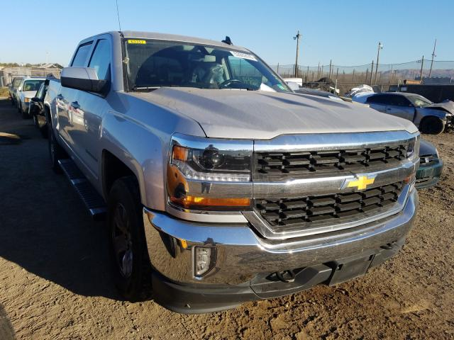 Salvage cars for sale from Copart San Martin, CA: 2017 Chevrolet Silverado