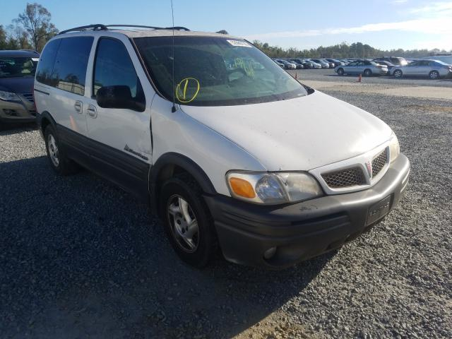 Pontiac Montana salvage cars for sale: 2003 Pontiac Montana