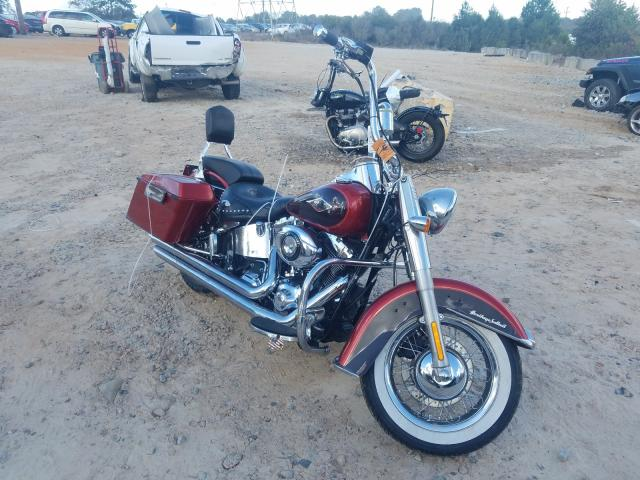Salvage cars for sale from Copart China Grove, NC: 2013 Harley-Davidson Flstc Heri