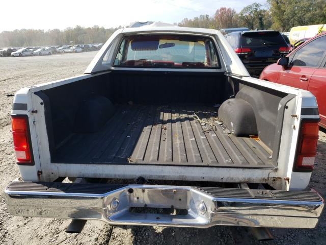 1991 dodge dakota 3 9l gas white للبيع spartanburg sc 1b7fl26x6ms202739 a better bid a better bid car auctions