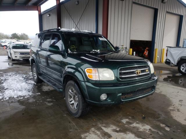 Toyota Sequoia salvage cars for sale: 2004 Toyota Sequoia