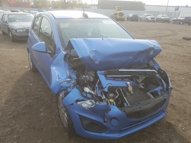 Salvage cars for sale from Copart Hammond, IN: 2015 Chevrolet Spark 1LT