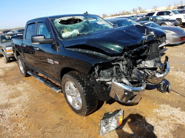 Salvage cars for sale from Copart Bridgeton, MO: 2017 Dodge RAM 1500 SLT