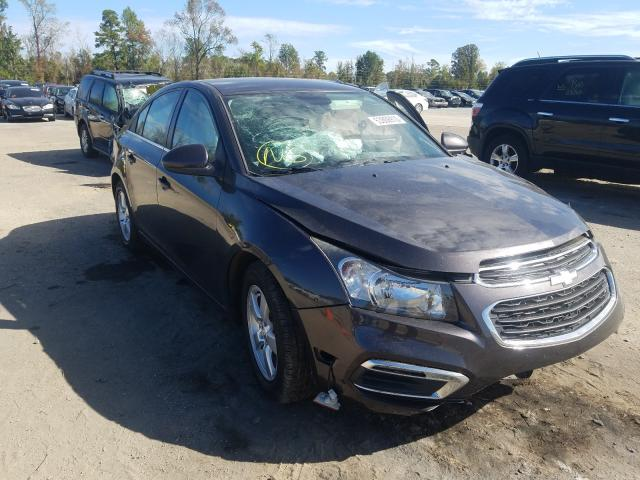 Chevrolet Cruze salvage cars for sale: 2016 Chevrolet Cruze