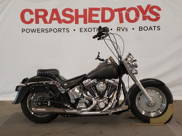 Salvage cars for sale from Copart Sun Valley, CA: 2000 Harley-Davidson Flstf