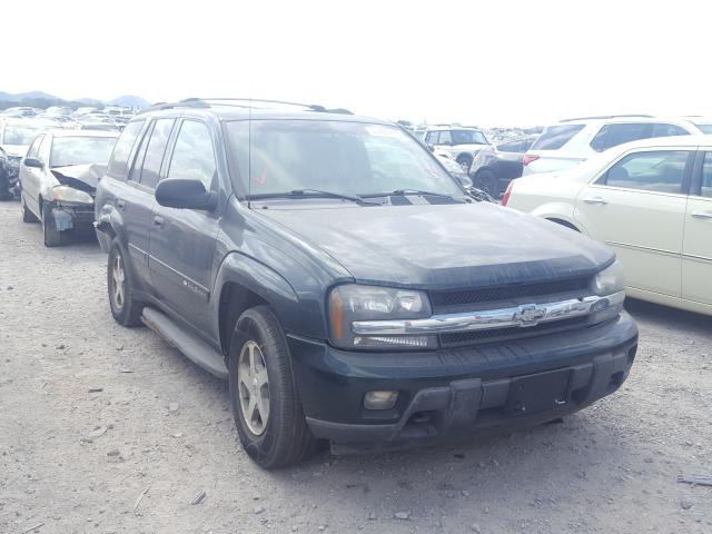 Salvage cars for sale at Madisonville, TN auction: 2003 Chevrolet Trailblazer