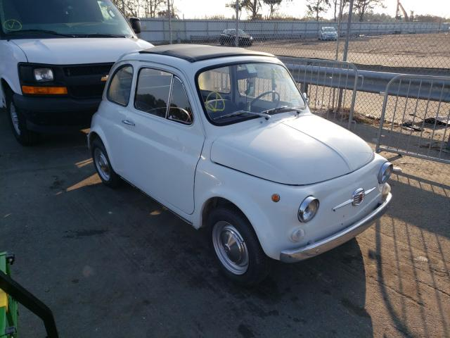 Fiat salvage cars for sale: 1971 Fiat 500L