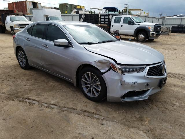 Acura TLX salvage cars for sale: 2018 Acura TLX