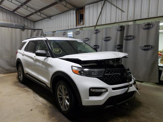 Salvage cars for sale from Copart Tifton, GA: 2020 Ford Explorer X