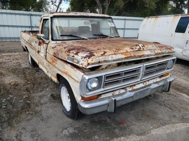 Salvage cars for sale from Copart Corpus Christi, TX: 1970 Ford F100