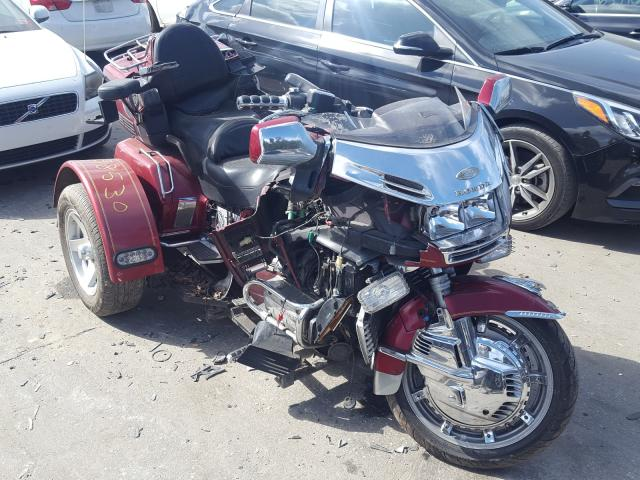 Salvage cars for sale from Copart Dunn, NC: 1995 Honda GL1500 A/2