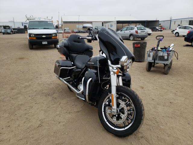 Salvage cars for sale from Copart Brighton, CO: 2015 Harley-Davidson Flhtkl ULT