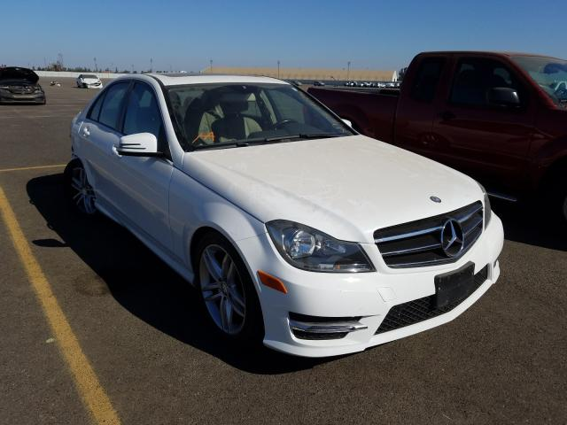 Salvage cars for sale from Copart Sacramento, CA: 2014 Mercedes-Benz C 250