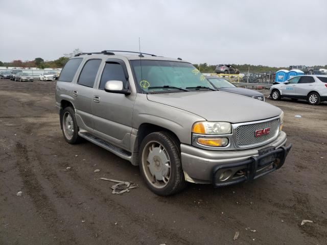 Salvage cars for sale from Copart Brookhaven, NY: 2003 GMC Yukon Dena