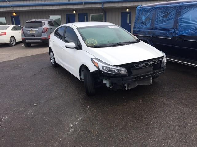 Salvage cars for sale from Copart Memphis, TN: 2017 KIA Forte LX