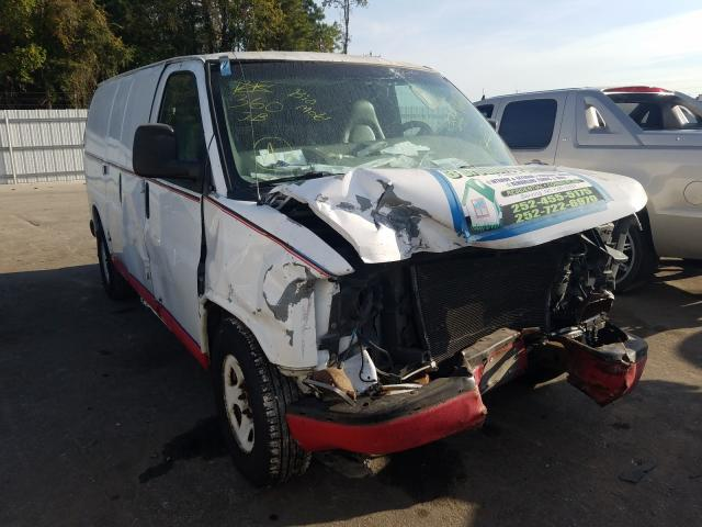 Salvage cars for sale from Copart Dunn, NC: 2003 Chevrolet Express G1