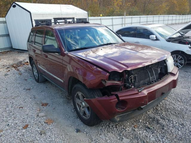Salvage cars for sale from Copart Hurricane, WV: 2007 Jeep Grand Cherokee