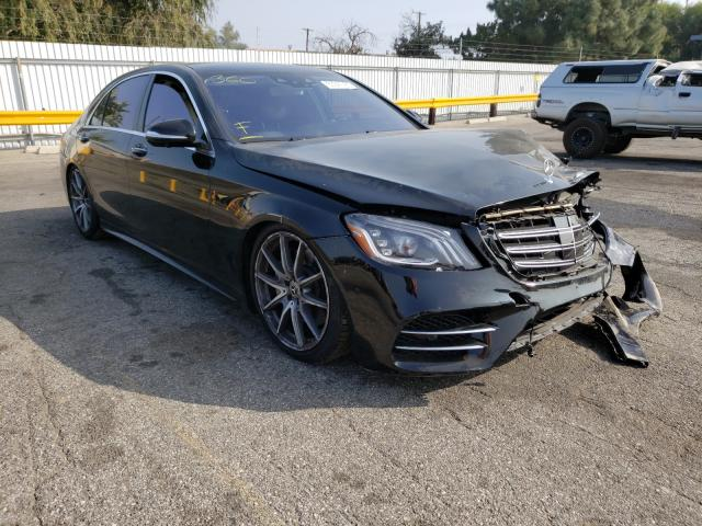Salvage cars for sale from Copart Van Nuys, CA: 2019 Mercedes-Benz S 560