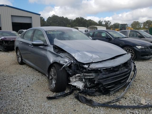 Salvage cars for sale at Ellenwood, GA auction: 2020 Honda Accord LX