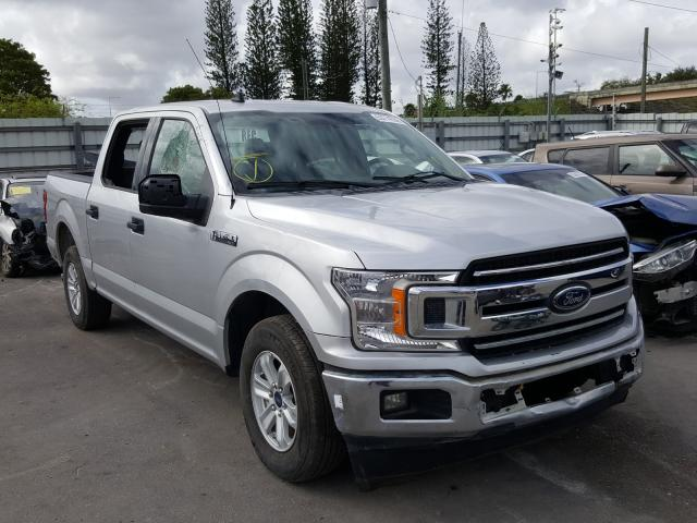 Vehiculos salvage en venta de Copart Miami, FL: 2019 Ford F150 Super