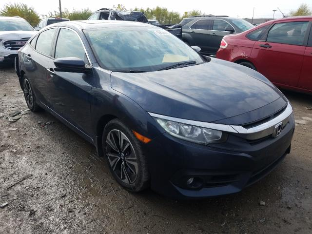 Salvage cars for sale from Copart Indianapolis, IN: 2017 Honda Civic EX