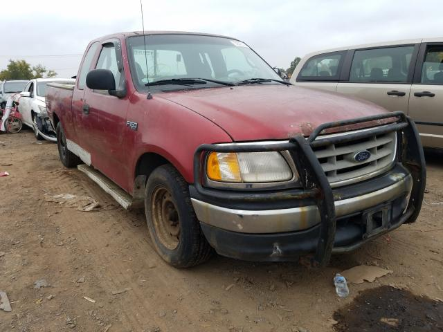 Salvage cars for sale from Copart Hillsborough, NJ: 2001 Ford F150