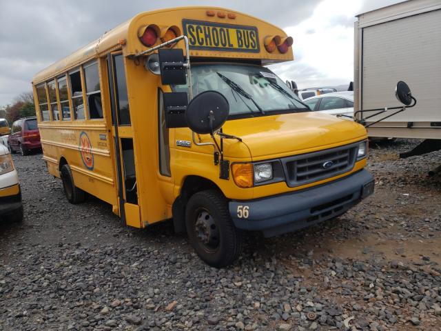 Salvage cars for sale from Copart Pennsburg, PA: 2006 Ford Econoline