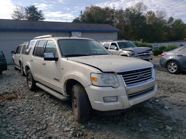 Ford Explorer L salvage cars for sale: 2007 Ford Explorer L