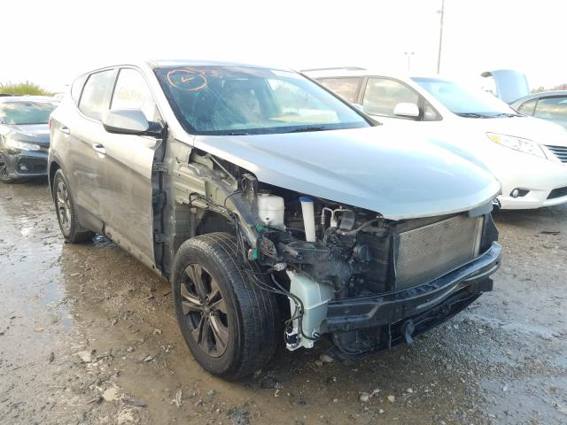 Salvage cars for sale at Indianapolis, IN auction: 2015 Hyundai Santa FE S