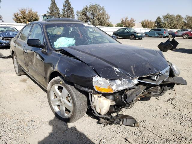 Salvage cars for sale from Copart Sacramento, CA: 2002 Acura 3.2TL Type