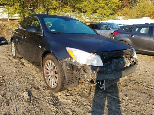 Salvage cars for sale from Copart Mendon, MA: 2011 Buick Regal CXL