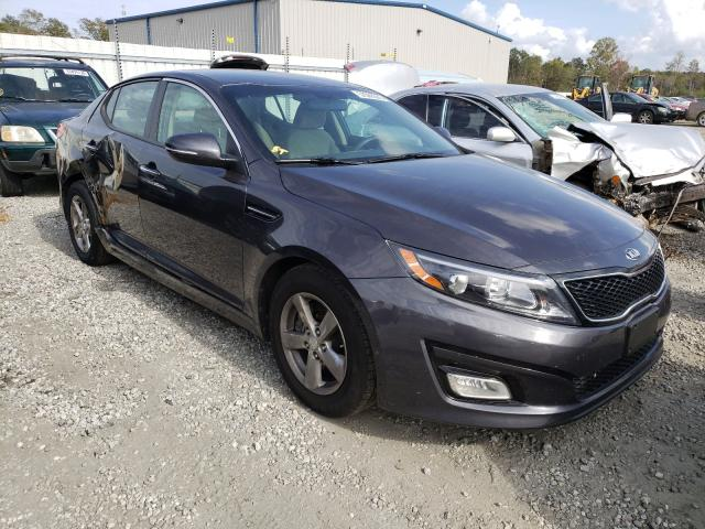 KIA Vehiculos salvage en venta: 2015 KIA Optima LX