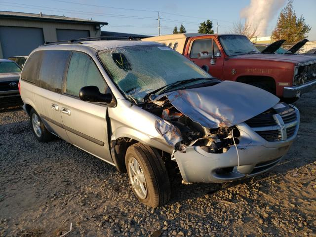 Salvage cars for sale from Copart Eugene, OR: 2005 Dodge Caravan SX