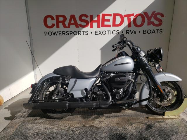 Salvage cars for sale from Copart Kansas City, KS: 2020 Harley-Davidson Fltrxs