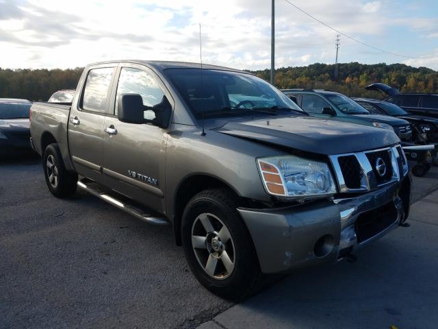 Salvage cars for sale from Copart Louisville, KY: 2007 Nissan Titan XE