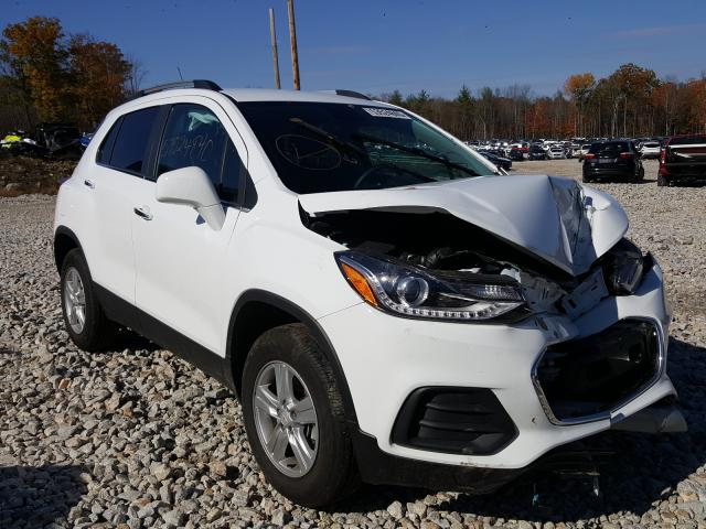 Salvage cars for sale from Copart Candia, NH: 2020 Chevrolet Trax 1LT