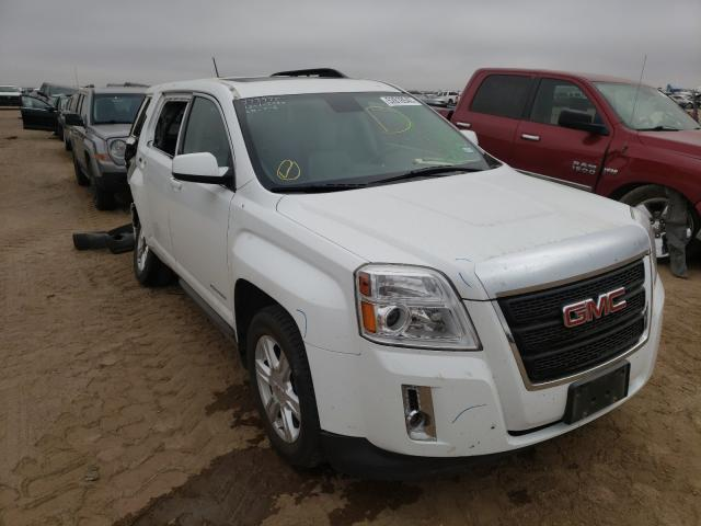 Salvage cars for sale from Copart Amarillo, TX: 2015 GMC Terrain SL