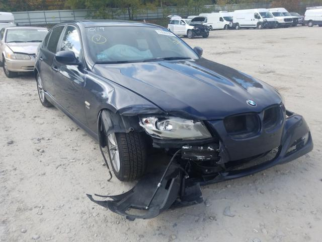Salvage cars for sale from Copart Mendon, MA: 2010 BMW 328 XI