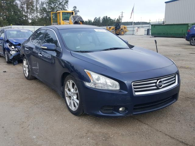 Nissan Maxima S salvage cars for sale: 2012 Nissan Maxima S