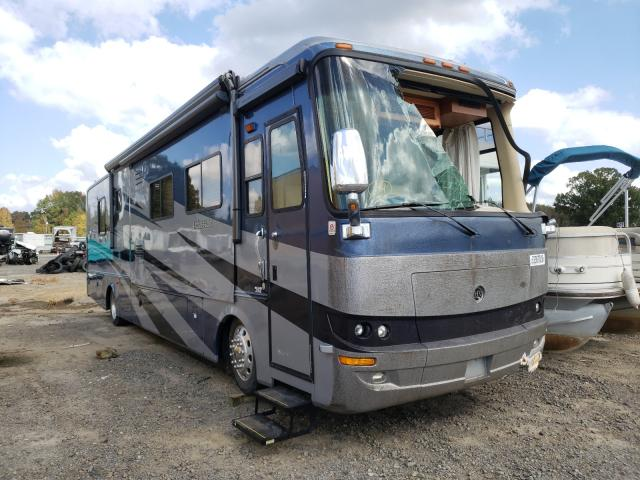 Holiday Rambler salvage cars for sale: 2006 Holiday Rambler Motorhome