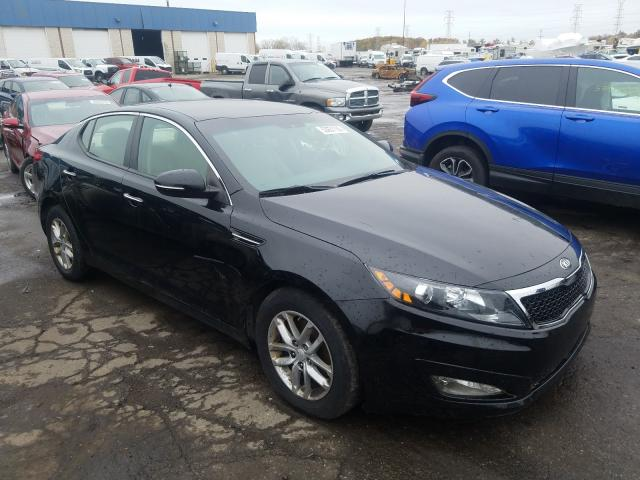 Salvage cars for sale from Copart Woodhaven, MI: 2013 KIA Optima LX