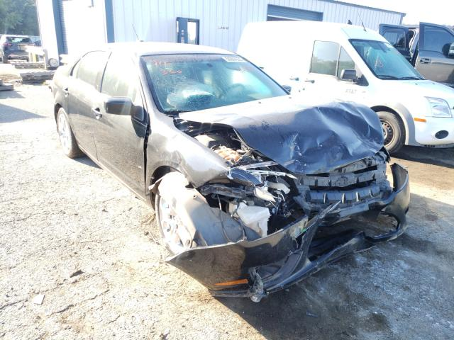 Salvage cars for sale from Copart Shreveport, LA: 2010 Ford Fusion SE