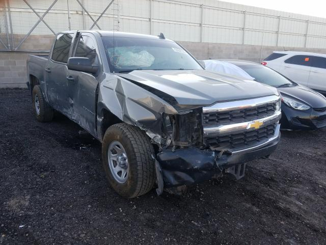 Salvage cars for sale from Copart Albuquerque, NM: 2017 Chevrolet Silverado