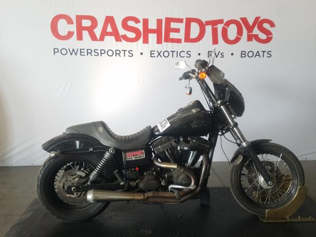 Salvage cars for sale from Copart San Diego, CA: 2014 Harley-Davidson Fxdb Dyna