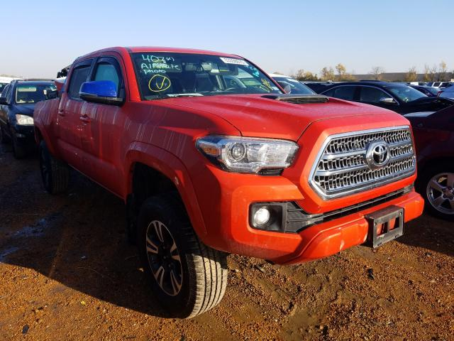 Salvage cars for sale from Copart Bridgeton, MO: 2017 Toyota Tacoma DOU
