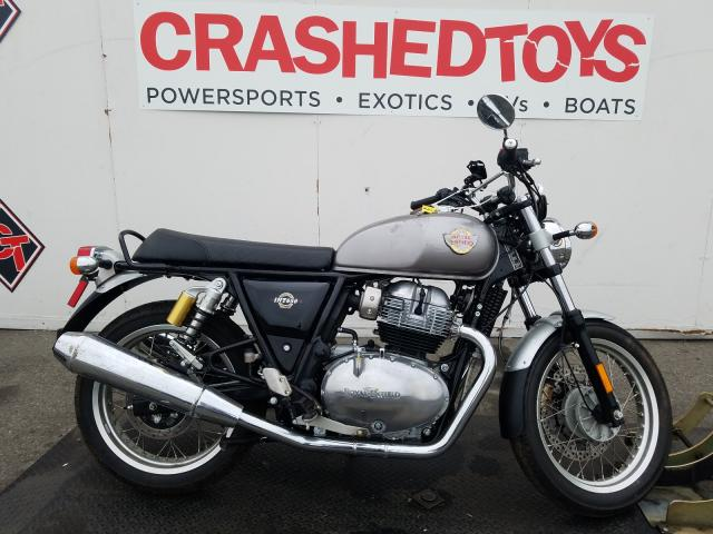 Royal Enfield Motors INT 650 salvage cars for sale: 2020 Royal Enfield Motors INT 650
