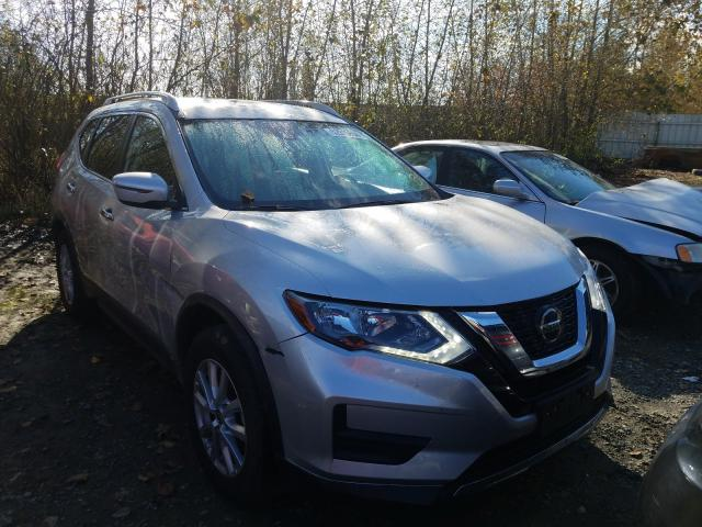 Salvage cars for sale from Copart Arlington, WA: 2020 Nissan Rogue S