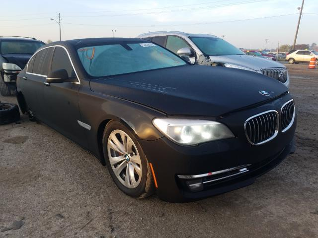 Salvage cars for sale from Copart Indianapolis, IN: 2015 BMW 740 LI
