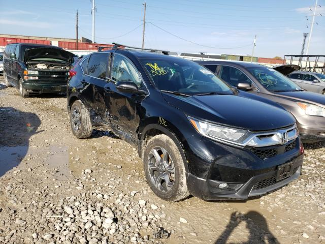 Salvage cars for sale from Copart Columbus, OH: 2017 Honda CR-V EX