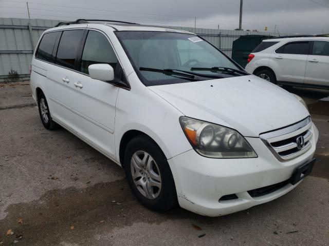 Salvage cars for sale from Copart Lexington, KY: 2007 Honda Odyssey EX